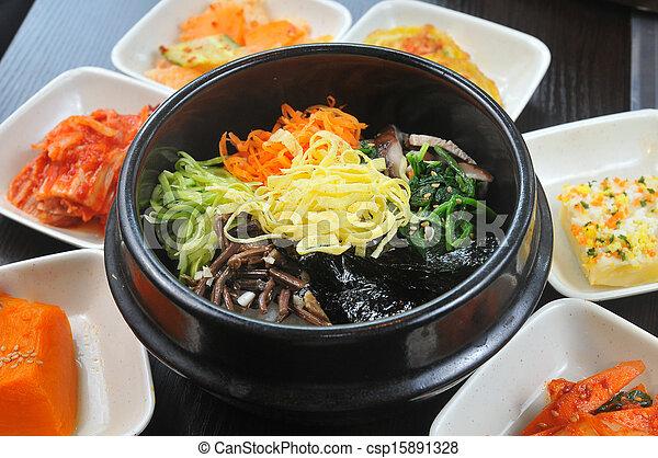 Cocina coreana - csp15891328