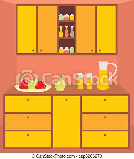 Cocina, furniture., interior.