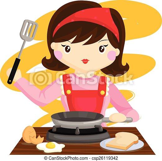 Cocina, Mamá