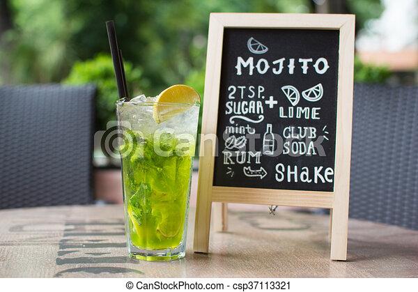 cocktail blackboard rezept tafelkreide mojito lettering tafelkreide zusammensetzen. Black Bedroom Furniture Sets. Home Design Ideas