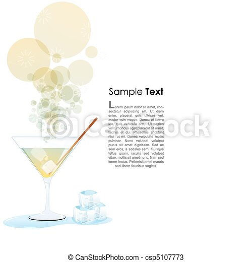 cocktail glass - csp5107773