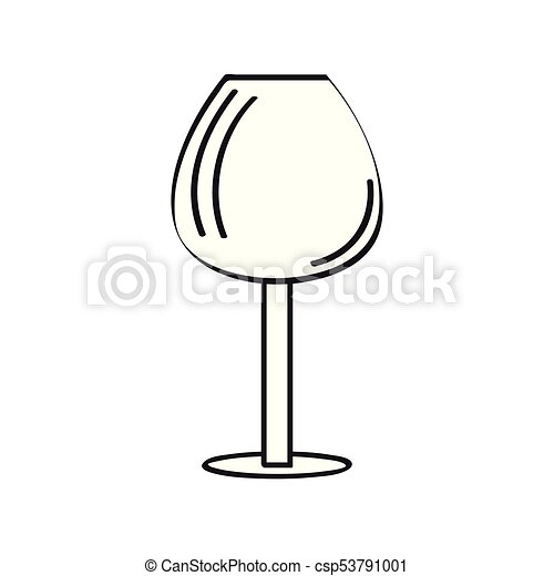 cocktail glass outline outline of a cocktail glass vector rh canstockphoto com glass victorville grass vector art
