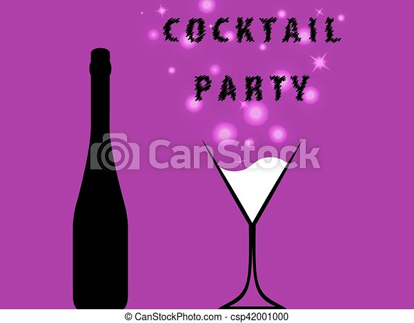 Cocktail Party For Poster