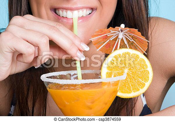 Cocktail smile - csp3874559