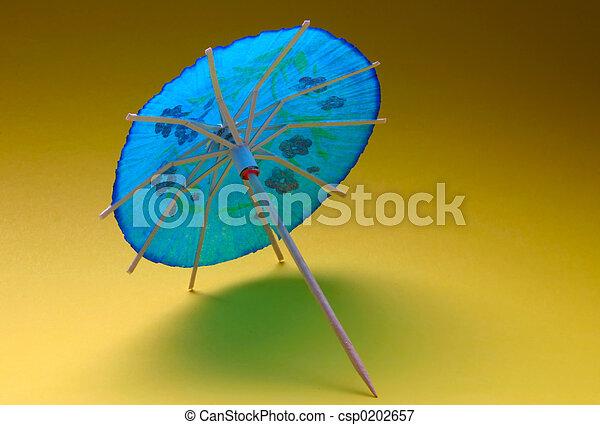 cocktail umbrella - - csp0202657