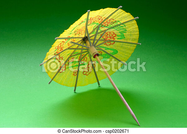 cocktail umbrella - - csp0202671