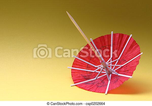 cocktail umbrella - - csp0202664