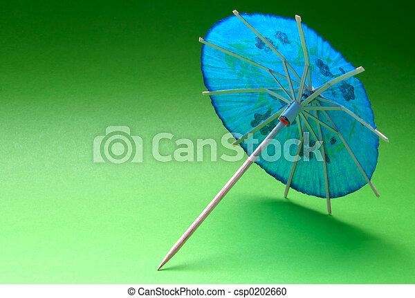 cocktail umbrella - - csp0202660