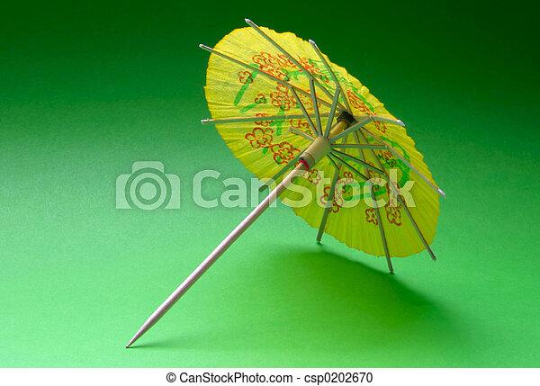 cocktail umbrella - - csp0202670