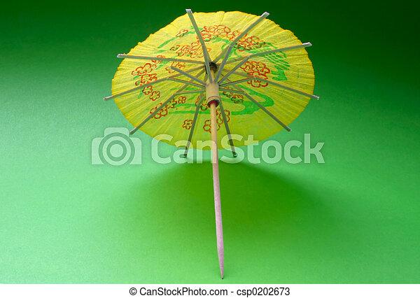 Cocktail Umbrella     Csp0202673