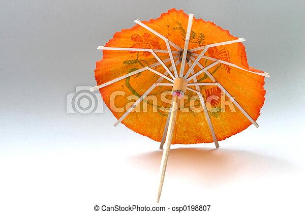 cocktail umbrella - csp0198807