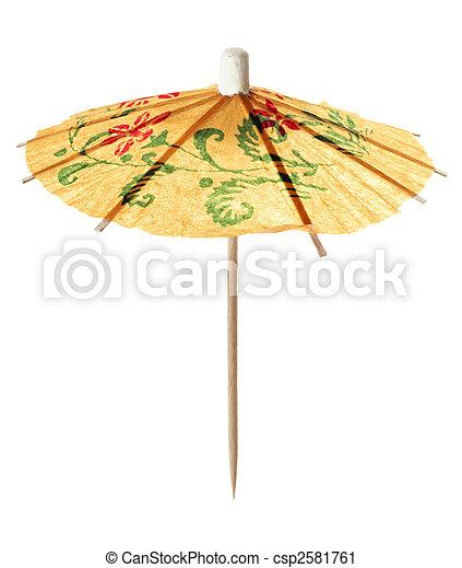 Cocktail umbrella - csp2581761