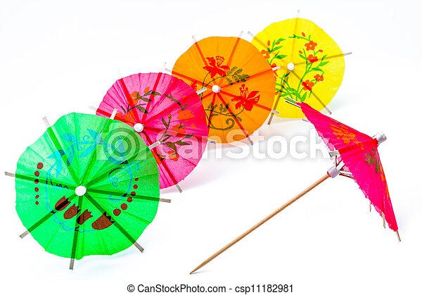Cocktail Umbrella - csp11182981