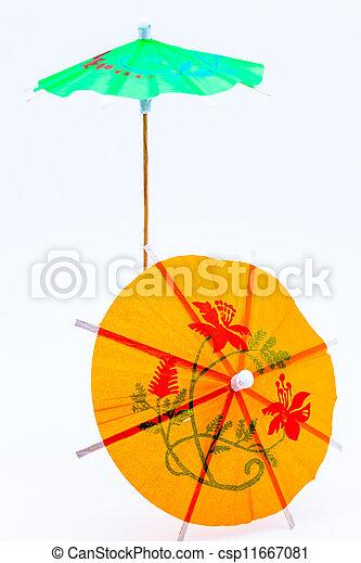 Cocktail Umbrella - csp11667081