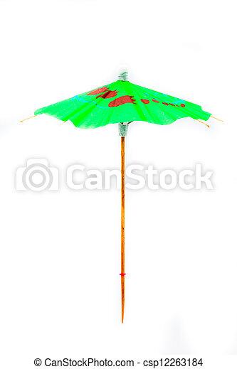 Cocktail Umbrella - csp12263184