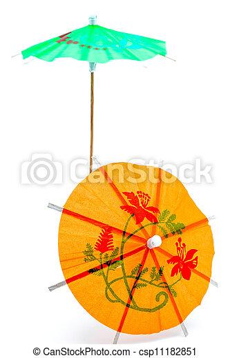 Cocktail Umbrella - csp11182851