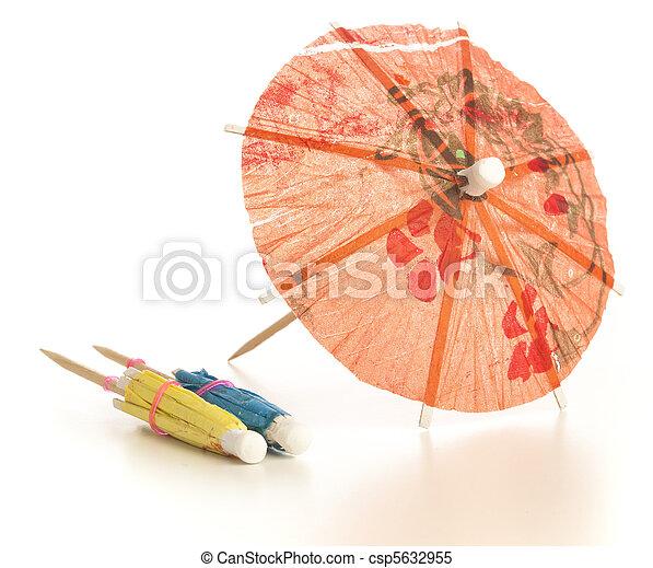 cocktail umbrella - csp5632955