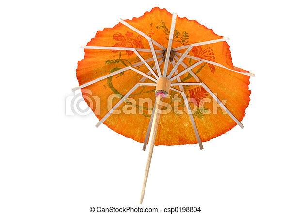 cocktail umbrella - csp0198804