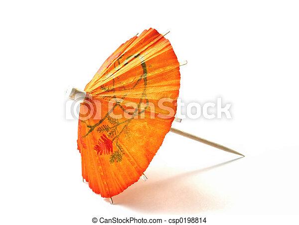 cocktail umbrella - csp0198814