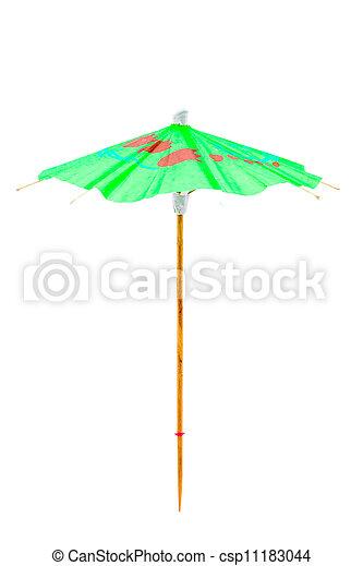 Cocktail Umbrella - csp11183044
