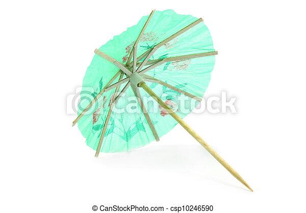 Cocktail umbrella - csp10246590