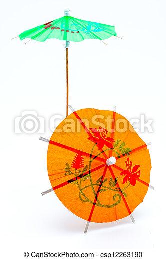 Cocktail Umbrella - csp12263190