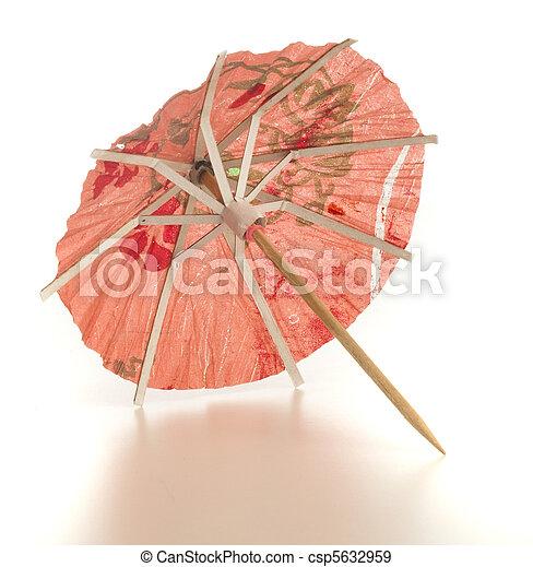 cocktail umbrella - csp5632959