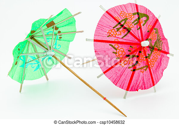 Cocktail Umbrella - csp10458632