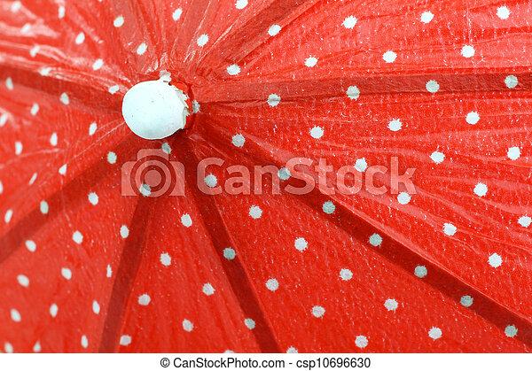 cocktail umbrella - csp10696630