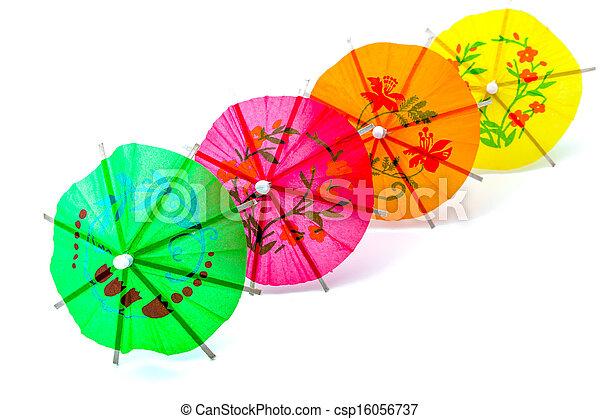 Cocktail Umbrella - csp16056737