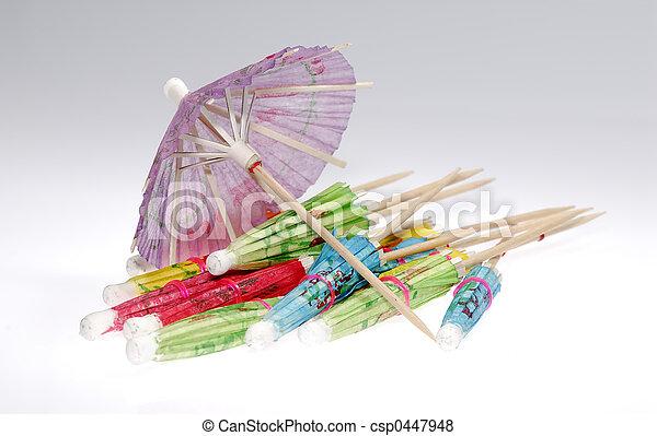 Cocktail Umbrellas - csp0447948