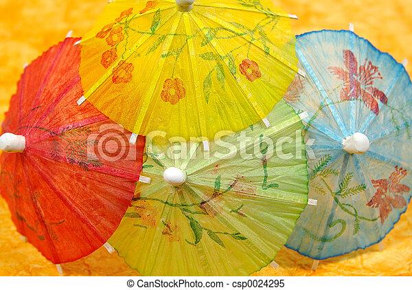 Cocktail Umbrellas - csp0024295