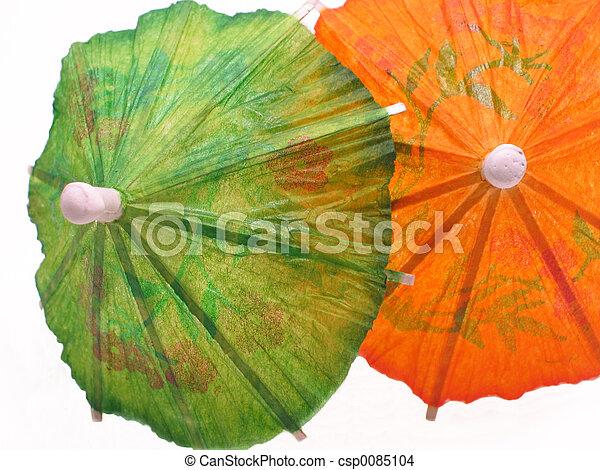 Cocktail Umbrellas - csp0085104