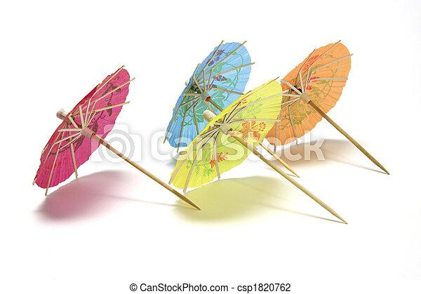 Cocktail Umbrellas - csp1820762