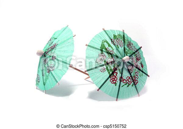 Cocktail umbrellas - csp5150752