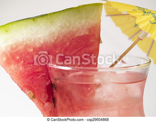 Cocktails Collection - Atomic Watermelon - csp29934868