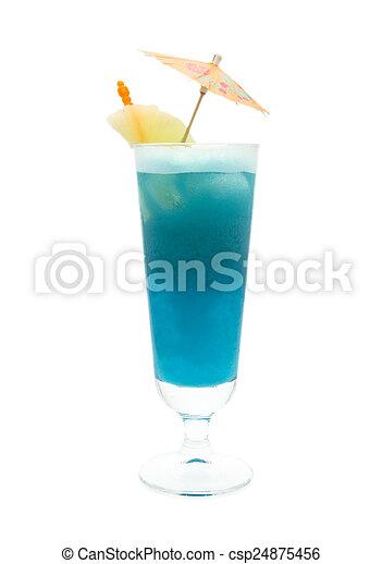 Cocktails Collection - Blue Hawaiian - csp24875456