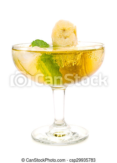 Cocktails Collection - Carribean Champagne - csp29935783