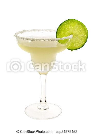 Cocktails Collection - Margarita - csp24875452