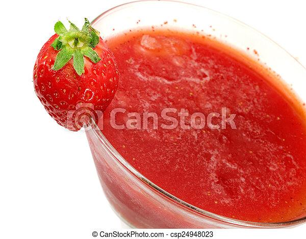 Cocktails Collection - Strawberry Margarita - csp24948023