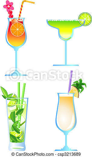 Cocktails - csp3213689