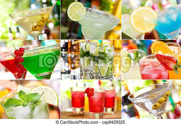 cocktails - csp9429325