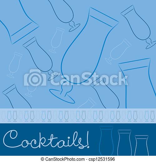 Cocktails! - csp12531596