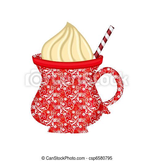 cocoa mug - csp6580795