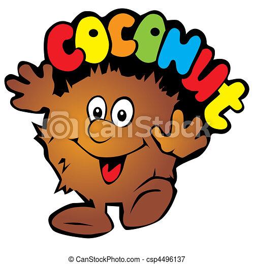 Coconut. - csp4496137
