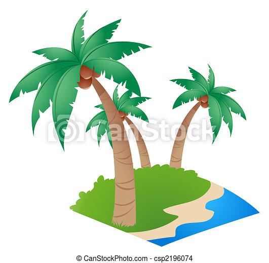 Coconut tree csp2196074