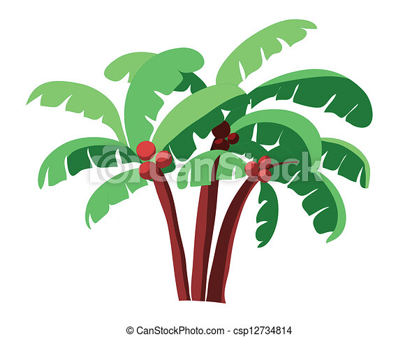 coconut tree - csp12734814
