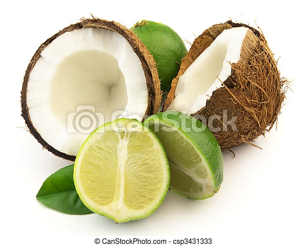 Coconut with lime - csp3431333