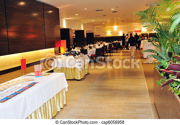 coctail and banquet catering party event - csp6056958