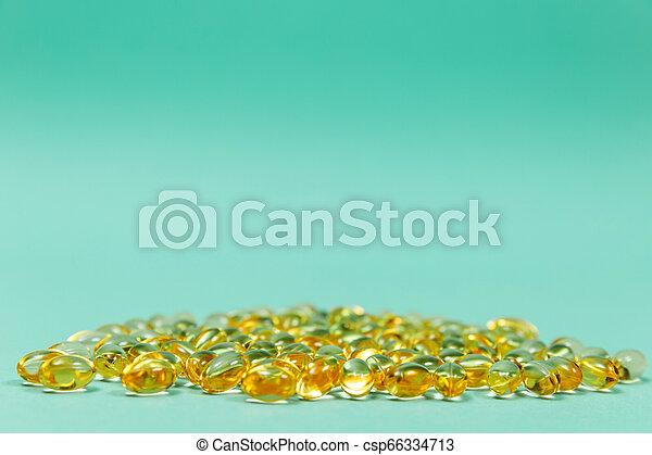 Cod liver oil omega 3 gel capsules - csp66334713